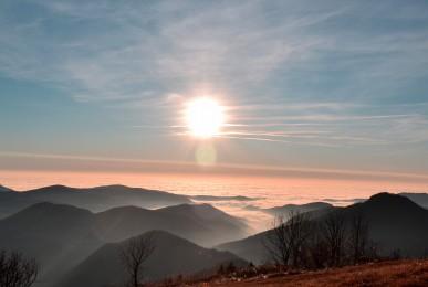 nebbia sulla pianura friulana